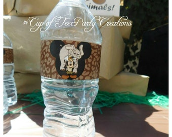 Custom Water Bottle lables for ANY OCCASION