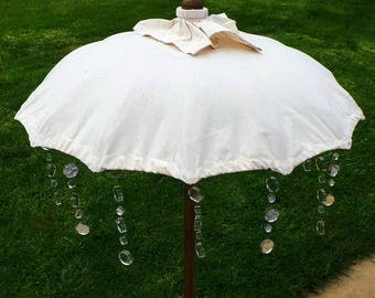 Mirror Suncatcher. 10 mirrors 1 cm and 2 cm acrylic mirrors. Turn your Parasol into an Indian style Parasol. Reflects dancing circles
