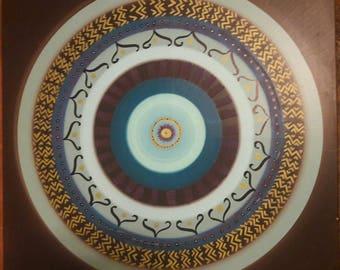 Mandala wall canvas