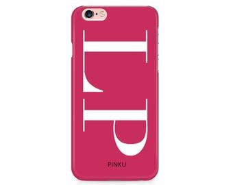 Personalised Initials Case iPhone 8 Case iPhone X Case iPhone 7 Case iPhone 7 Plus Case iPhone SE Case Samsung S8 Samsung S7 Samsung S6