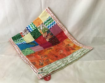 Table runner with patch work