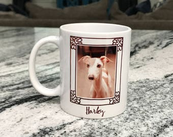 Personalized Pet Mugs Custom 11oz