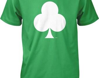 White Spade, Playing Card Suit Men's T-shirt, NOFO_00839