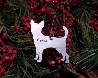 Chihuahua ornament | Etsy