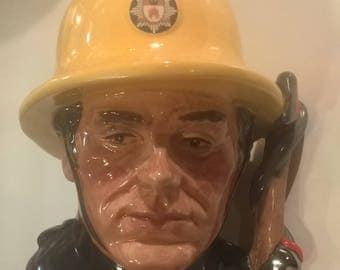 Royal Doulton 'The Fireman'