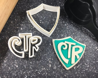 CTR Choose the Right LDS Cookie Cutter - Fondant Cutter