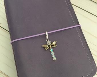 Dragonfly Charm- Clear