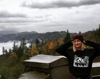 Oregon Mountain Crew-neck Sweatshirt