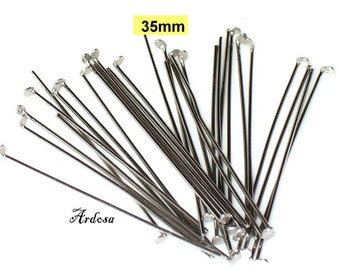 30 Stainless steel riveting pins 35mm (12.35.1)