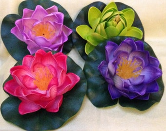 Floating Lotus Flower