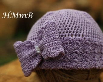 Crochet hat Pattern - crochet hat - pattern hat - baby girl hat \Size: 0-3 mnt; 3-6 mnt; todler; child; adult\ Руководство к вязанию