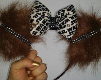 Chewbacca ears, Mickey ears, Minnie ears, Mickey Mouse Ears, Minnie Mouse Ears, Star Wars ears