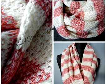 INFINITY SCARF.Scarves.Circle Scarves.Tube Scarves.Fall Fashion.Winter Fashion.Gift for Her.Scarf.NeckScarf.Neck Warmer. Cotton. SC0089
