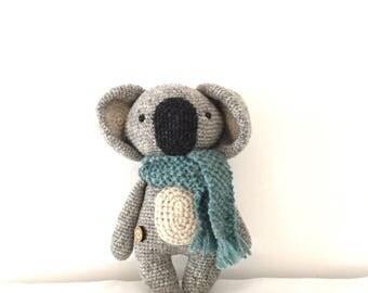 Koala soft toy, crochet koala, koala stuffed toy, softie, plushie