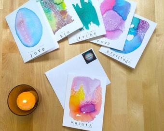Humanness greetings | Set of 6 cards