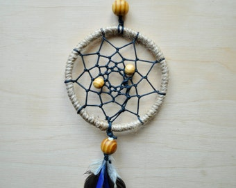 "Dreamcatcher ""Earth"" Souvenir Necklace Handmade Talisman Car Decoration"