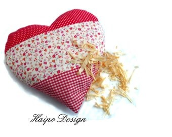 Heart Pillow filled with pine   Christmas Gift