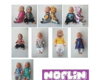 Sy kule klær til dukken - PDF