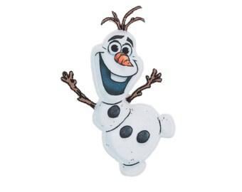 Olaf Iron On Applique, Genuine Disney Iron On Patch, Olaf Patch, Olaf Applique, Frozen Applique, Disney Applique, Kids Patch