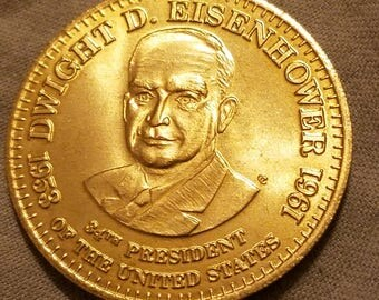 Esso 1992 Collectible President Coin Dwight D. Eisenhower