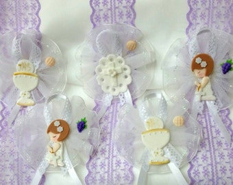 White or Ethnic Communion Guess Capias or Corsages Party Favor Centerpiece Decoration