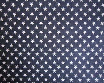 New!! cotton sheeting fabric small stars 110x40cm made in Japan kawaii