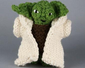 Yoda plushie Etsy