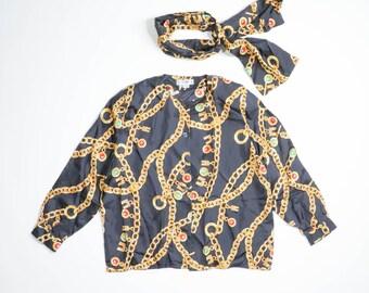 CELINE - Silk bluse
