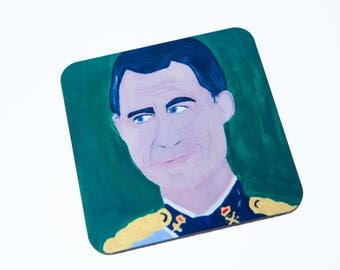 King of Spain coaster, King Felipe VI, Spanish Royal Family
