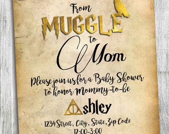Harry Potter Shower Etsy