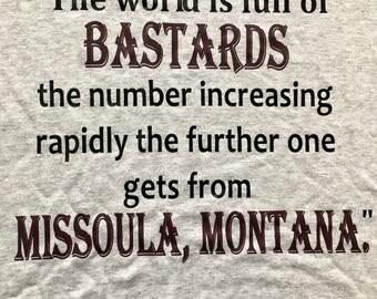 University of Montana Grizzlies, Missoula, MT - A River Runs Through It
