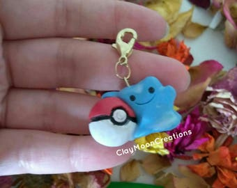 Charm Ditto and pokeball