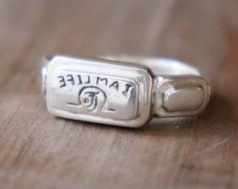 Ring Bohemian Ritzy Silver