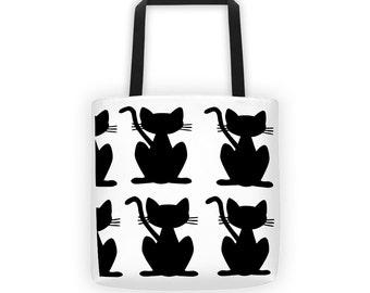 Black Cat Tote
