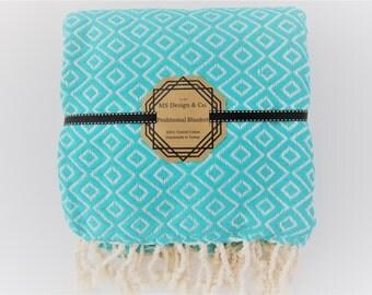 Turkish Towel, Turkish Peshtemal Towel, Turkish Bath Towel, Hamam Towel, Beach Towel, HandTowel,Bridesmaid, Travel, Swim Towel