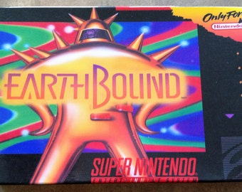 EarthBound - Super Nintendo (SNES) - Custom Reproduction Mini Box