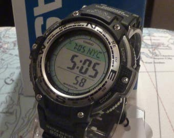NIB Casio SGW-100 Digital Compass Watch