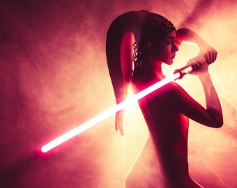 Twi'lek Sith — Cosplay Photo Print A4 Please Choose