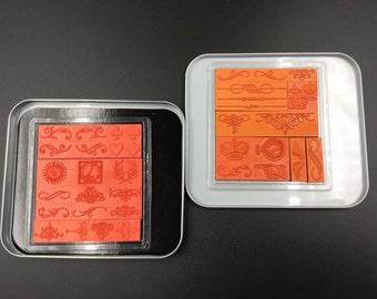 Making Memories Magnetic Stamp Ornaments