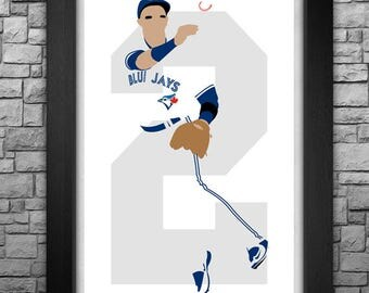 TROY TULOWITZKI minimalism style limited edition art print. Choose from 3 sizes!