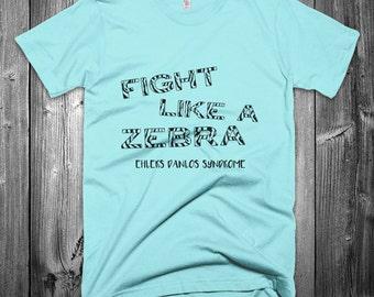 PICK COLORS Fight Like a Zebra EDS Shirt