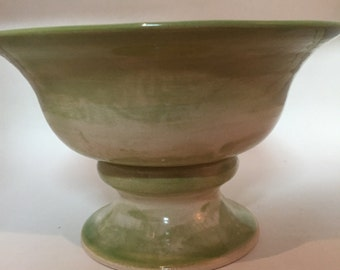 Green tall bowl