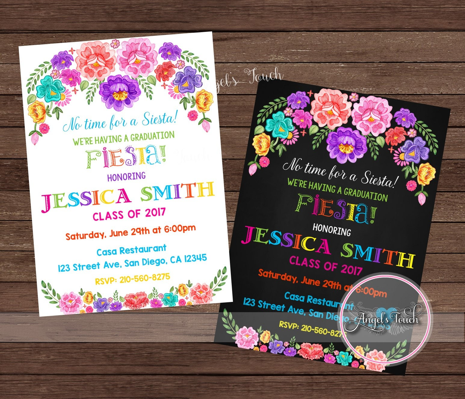 Fiesta Invitation, Fiesta Birthday Party Invitation, Mexican ...