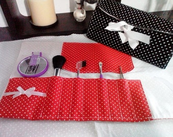 Valentine's day makeup pouch