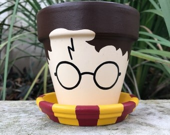Harry Potter Flower Pot