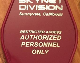 NEW! Terminator inspired CYBERDYNE networks keytag