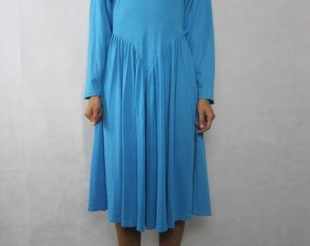 VINTAGEKaties Bright Blue 90s Dress Size XS-S