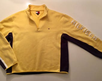 Tommy Hilfiger Spell Out 1/4 zip