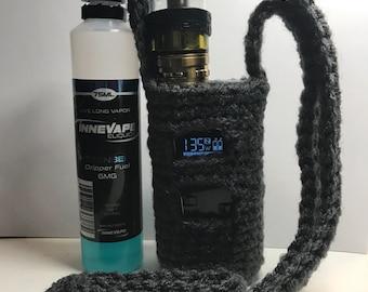 ReadyToShip* Crochet Grey Alien 220W Lanyard/Cozy