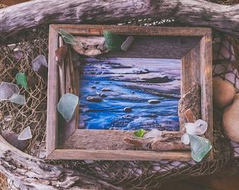 Beachglass/Driftwood Frame
